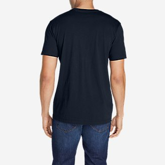 Thumbnail View 2 - Men's Legend Wash Short-Sleeve T-Shirt - Classic Fit