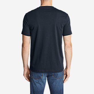 Thumbnail View 2 - Men's Legend Wash Short-Sleeve T-Shirt - Slim Fit