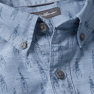 Thumbnail View 3 - Men's Grifton Short-Sleeve Shirt - Print