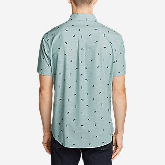 Thumbnail View 2 - Men's Grifton Short-Sleeve Shirt - Print