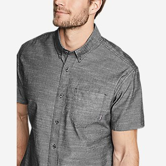 Thumbnail View 3 - Men's Grifton Short-Sleeve Shirt - Solid