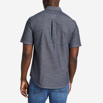 Thumbnail View 2 - Men's Grifton Short-Sleeve Shirt - Solid