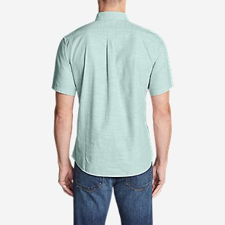 Thumbnail View 2 - Men's Grifton Short-Sleeve Shirt - Solid