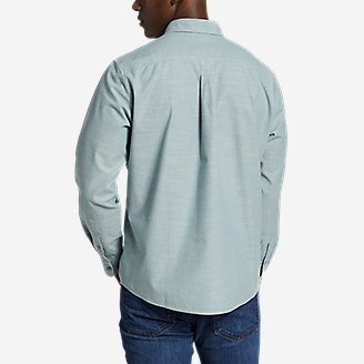Thumbnail View 2 - Men's Grifton Long-Sleeve Shirt - Solid