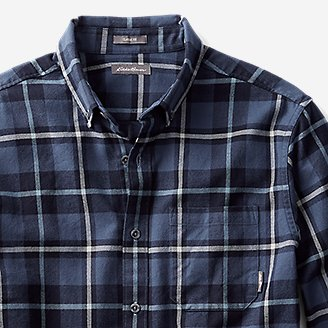 Thumbnail View 3 - Men's Eddie's Favorite Flannel Classic Fit Shirt - Plaid