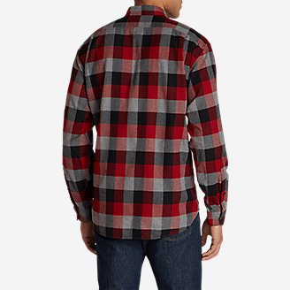 Thumbnail View 2 - Men's Eddie's Favorite Flannel Classic Fit Shirt - Plaid