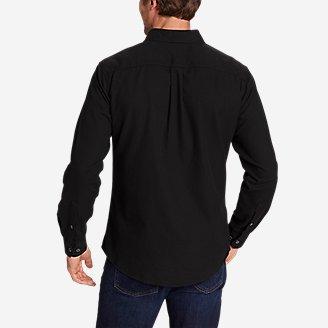Thumbnail View 2 - Men's Eddie's Favorite Flannel Classic Fit Shirt - Solid