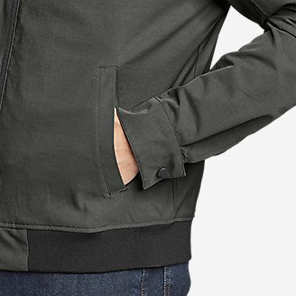 Thumbnail View 3 - Men's Voyager Bomber Jacket