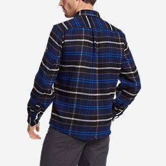 Thumbnail View 2 - Men's Chopper Heavyweight Flannel Shirt