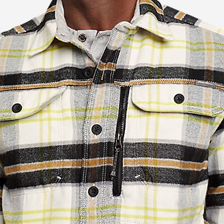 Thumbnail View 3 - Men's Chopper Heavyweight Flannel Shirt