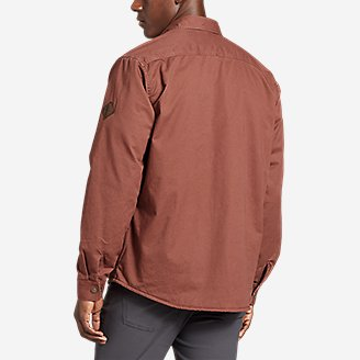 Thumbnail View 2 - Men's Legend Wash Flex Fleece-Lined Shirt Jacket