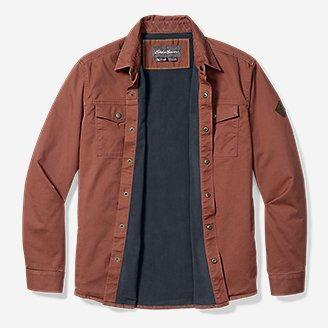 Thumbnail View 3 - Men's Legend Wash Flex Fleece-Lined Shirt Jacket