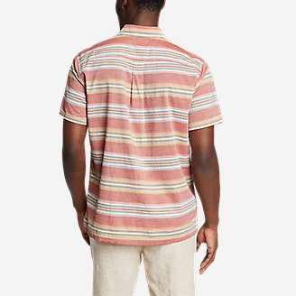 Thumbnail View 2 - Men's Baja Short-Sleeve Popover Shirt