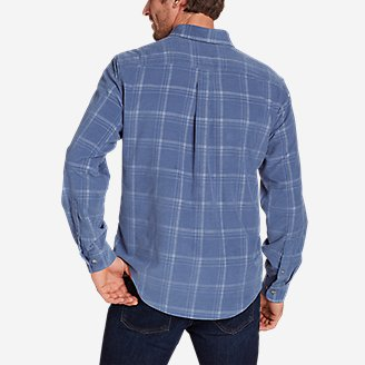 Thumbnail View 2 - Men's Long-Sleeve Corduroy Shirt