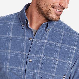 Thumbnail View 3 - Men's Long-Sleeve Corduroy Shirt