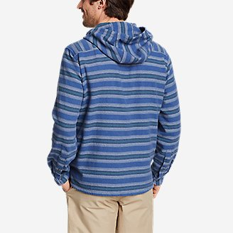 Thumbnail View 2 - Men's Rancher Twill Popover Hoodie