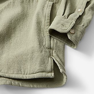 Thumbnail View 3 - Men's Rancher Twill Popover Hoodie