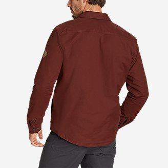 Thumbnail View 2 - Men's Voyager Fleece-Lined Shirt Jacket