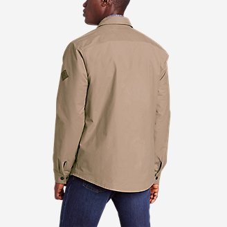 Thumbnail View 2 - Men's Voyager Fleece-Lined Shirt Jacket