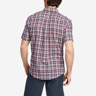 Thumbnail View 2 - Men's Tidelands Short-Sleeve Yarn-Dyed Textured Shirt