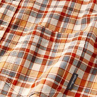Thumbnail View 3 - Men's Tidelands Short-Sleeve Yarn-Dyed Textured Shirt