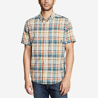 Thumbnail View 3 - Men's Baja Short-Sleeve Shirt - Print