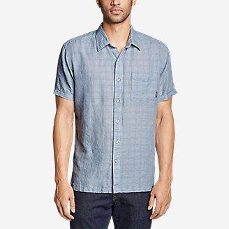 Thumbnail View 3 - Men's Larrabee Short-Sleeve Shirt - Print