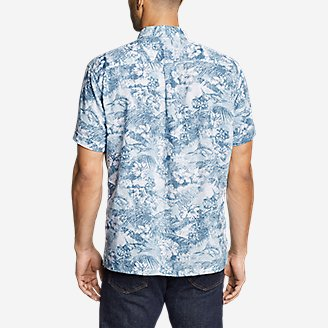Thumbnail View 2 - Men's Larrabee Short-Sleeve Shirt - Print