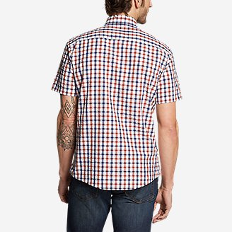 Thumbnail View 2 - Men's Bainbridge Short-Sleeve Seersucker Shirt