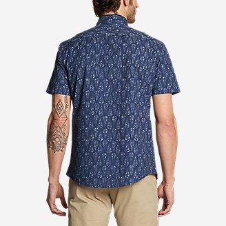 Thumbnail View 2 - Men's Bainbridge Short-Sleeve Seersucker Shirt