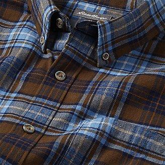 Thumbnail View 3 - Men's Eddie's Favorite Flannel Relaxed Fit Shirt - Plaid