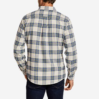 Thumbnail View 2 - Men's Eddie's Favorite Flannel Relaxed Fit Shirt - Plaid