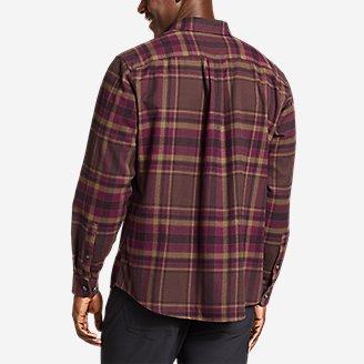 Thumbnail View 2 - Men's Eddie's Favorite Flannel Relaxed Fit Shirt - Plaid