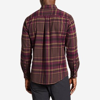 Thumbnail View 2 - Men's Eddie's Favorite Flannel Slim Fit Shirt
