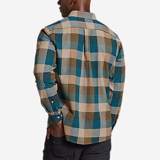 Thumbnail View 2 - Men's Eddie's Favorite Flannel Slim Fit Shirt