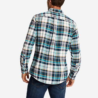 Thumbnail View 2 - Men's Eddie's Favorite Flannel Shirt - Slim