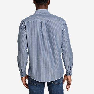 Thumbnail View 2 - Men's On The Go Long-Sleeve Poplin Shirt