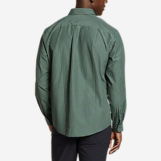 Thumbnail View 2 - Men's On The Go Long-Sleeve Poplin Shirt