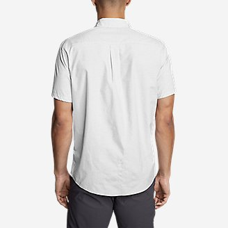 Thumbnail View 2 - Men's On The Go Short-Sleeve Poplin Shirt