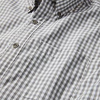 Thumbnail View 3 - Men's On The Go Short-Sleeve Poplin Shirt