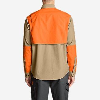 Thumbnail View 2 - Men's Field Guide Flex Long-Sleeve Shirt - Blaze