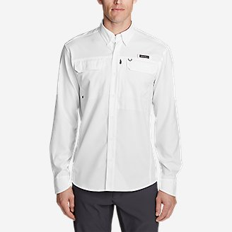 Thumbnail View 3 - Men's Water Guide Long-Sleeve Shirt