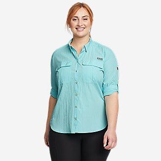 Thumbnail View 3 - Women's Guide UPF Long-Sleeve Shirt