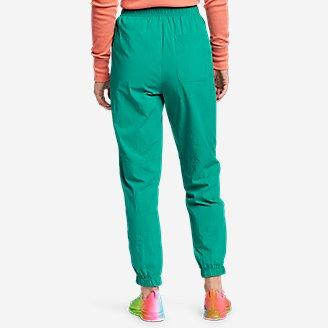 Thumbnail View 2 - Women's Eddie Bauer x karla Woven Sweatpants
