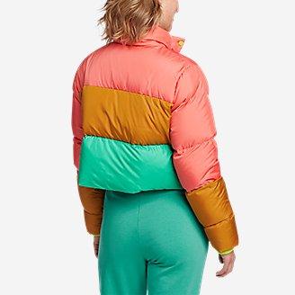 Thumbnail View 2 - Women's Eddie Bauer x karla Cropped Puffer Jacket