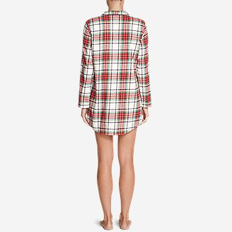 Thumbnail View 2 - Women's Stine's Favorite Flannel Night Shirt