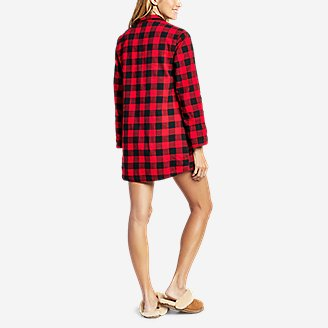 Thumbnail View 2 - Women's Stine's Favorite Flannel Night Shirt