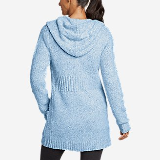 Thumbnail View 2 - Women's Hooded Sleep Cardigan