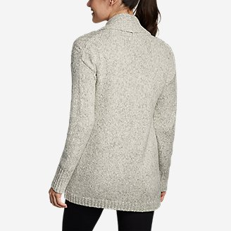 Thumbnail View 2 - Women's Cable Sleep Cardigan