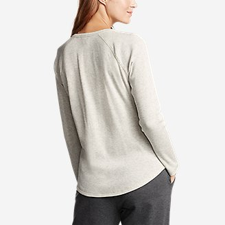 Thumbnail View 2 - Women's Stine's Favorite Thermal Crew - Solid